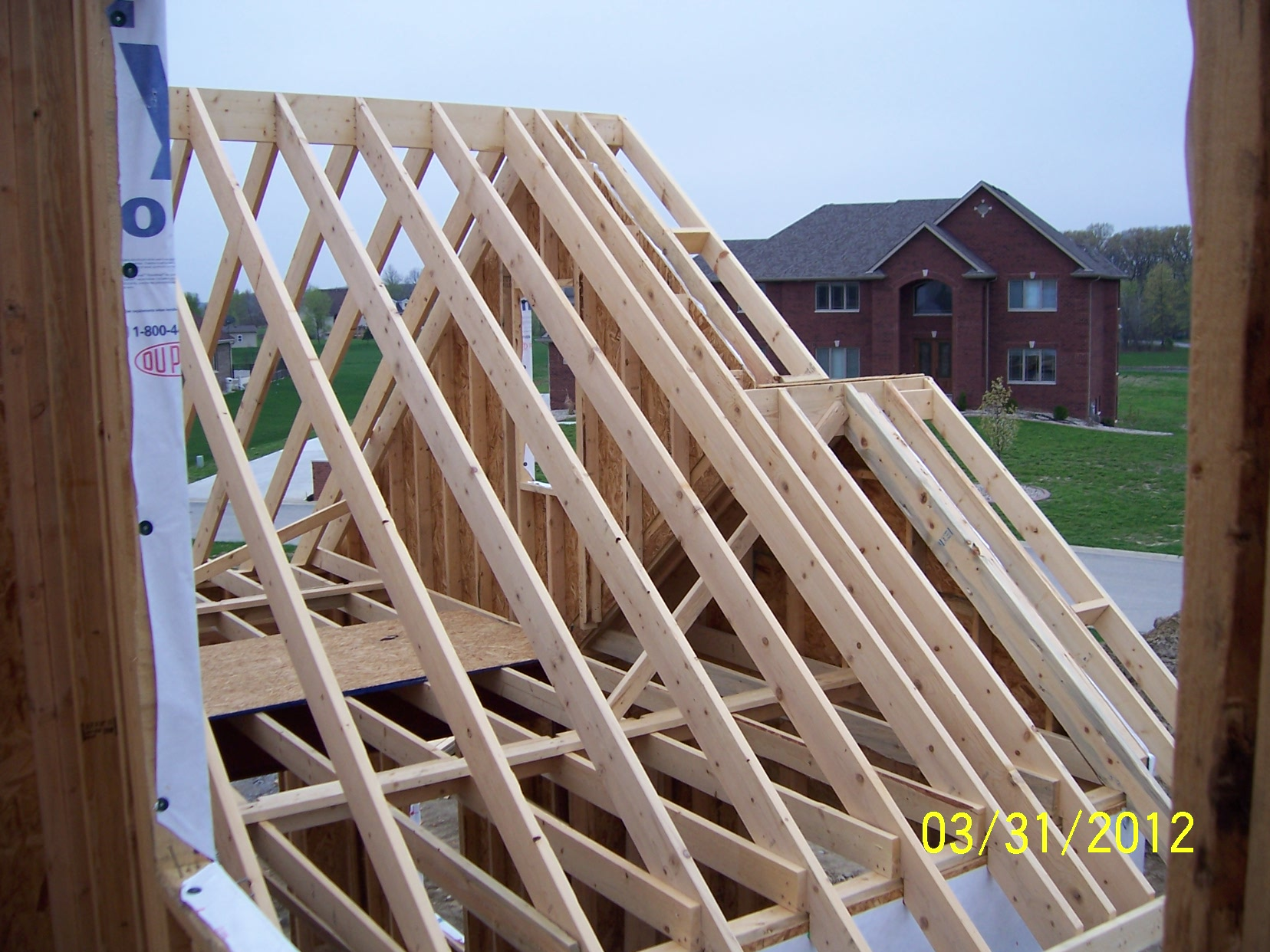 Framing g k development blog for House roof construction