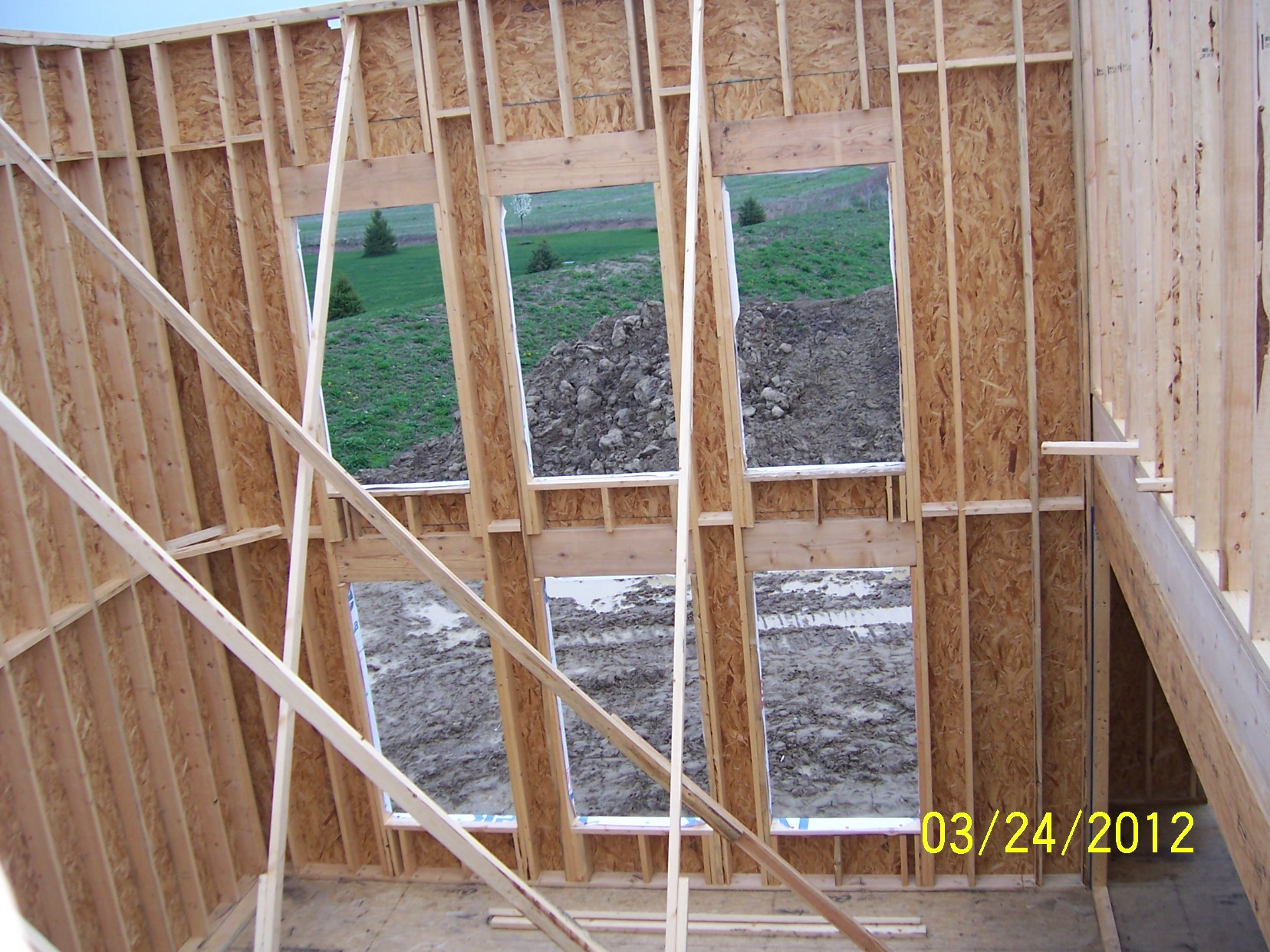 The new home g k development blog page 2 for How to frame a two story house